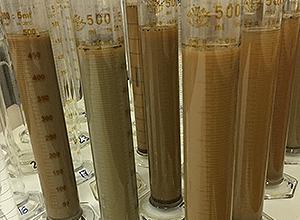 Cilindri di sedimentazione