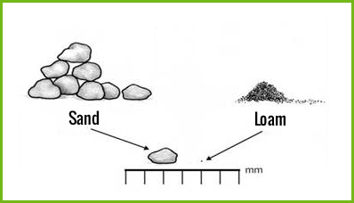 Water-stagnation-sand-loam