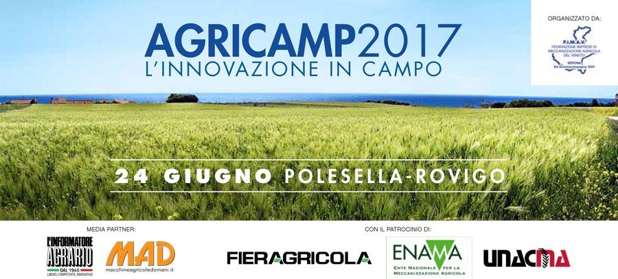 AGRICAMP 2017: INNOVAZIONE IN CAMPO