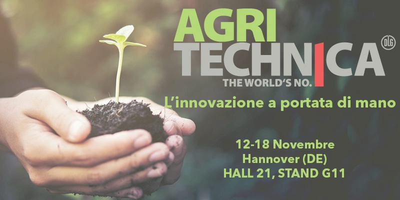 AGRITECHNICA 2017 - L'innovazione a portata di mano