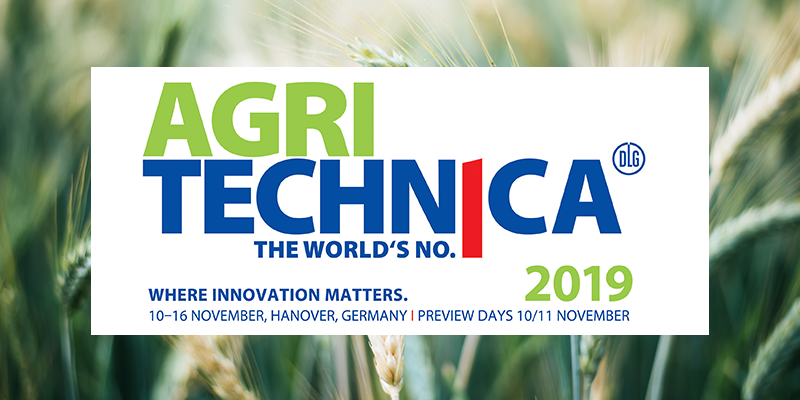 Agritechnica 2019: where innovation matters