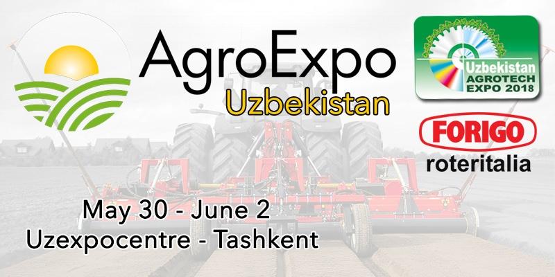 AgroExpo Uzbekistan 2018: Discover Agrotech Expo