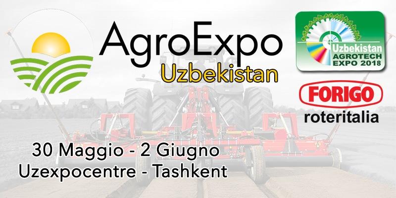 AgroExpo Uzbekistan 2018: Scopri Agrotech Expo
