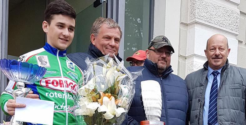 Forigo per lo sport: Francesco Lonardi 1° al Circuito di Spirano