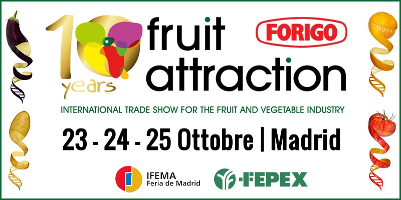 Fruit Attraction 2018: decimo anniversario per la fiera spagnola