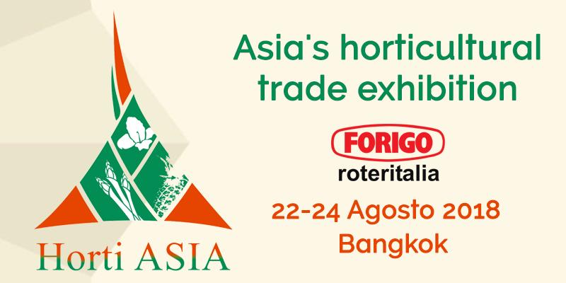 Horti Asia 2018: in Asia per l'orticoltura