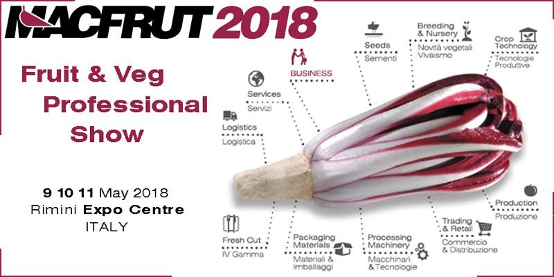 MACFRUT 2018: Fruit & Veg professional Show
