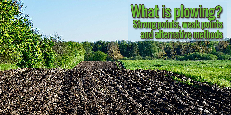 What is plowing? Strong points, weak points and alternative methods