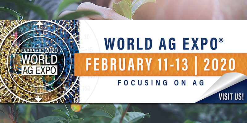 World AG Expo 2020: agricultural world in California