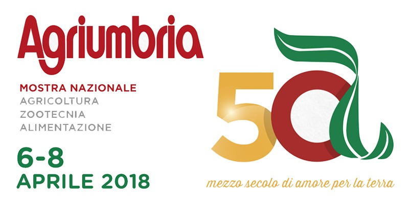 Agriumbria 2018: Half a century of love for the earth