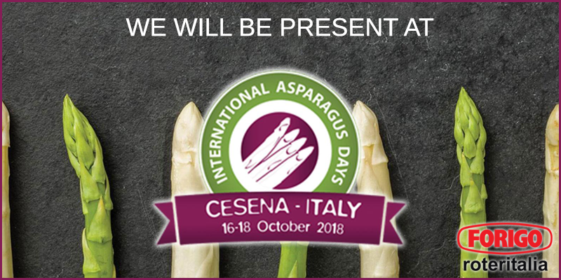 INTERNATIONAL Asparagus Days 2018: a new exhibition in emilia romagna
