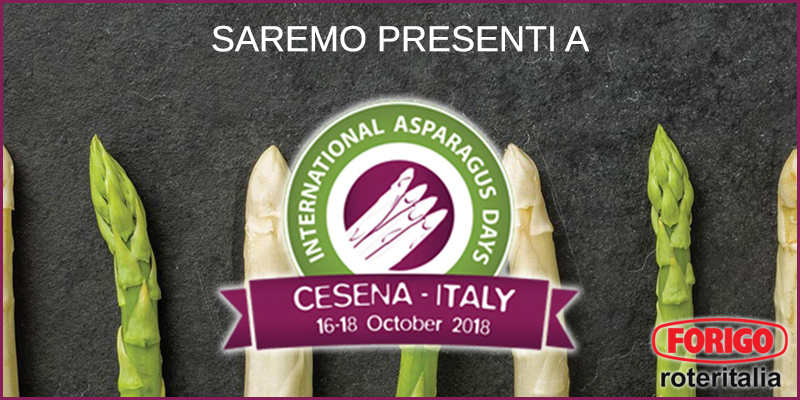 International Asparagus Days 2018, una nuova fiera in emilia romagna