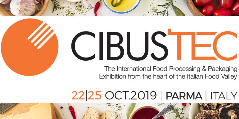 Cibus Tec 2019: innovation for the food & beverage sector