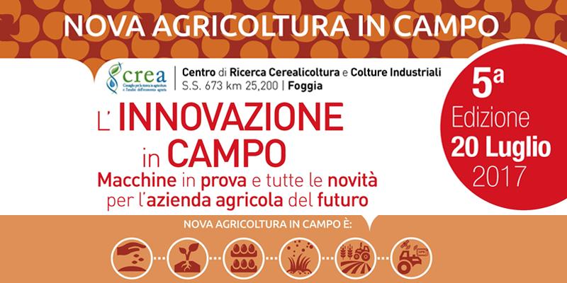 NOVA AGRICOLTURA IN CAMPO 2017 – 5a edizione