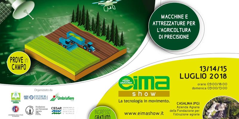 Eima Show Umbria 2018: la tecnologia in movimento