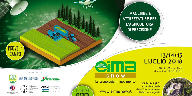Eima Show Umbria 2018: la tecnologia in movimento