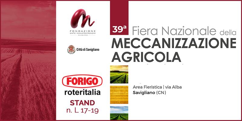 Fiera Nazionale della Meccanizzazione Agricola 2020: 39^ Edizione