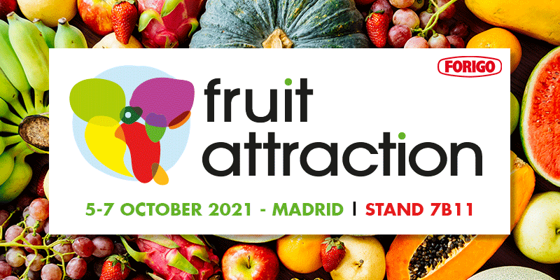 Fruit Attraction 2021: the fruit and vegetable sector back in Madrid