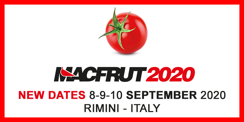 Macfrut 2020: in Rimini, the main event of the fruit & vegetable world