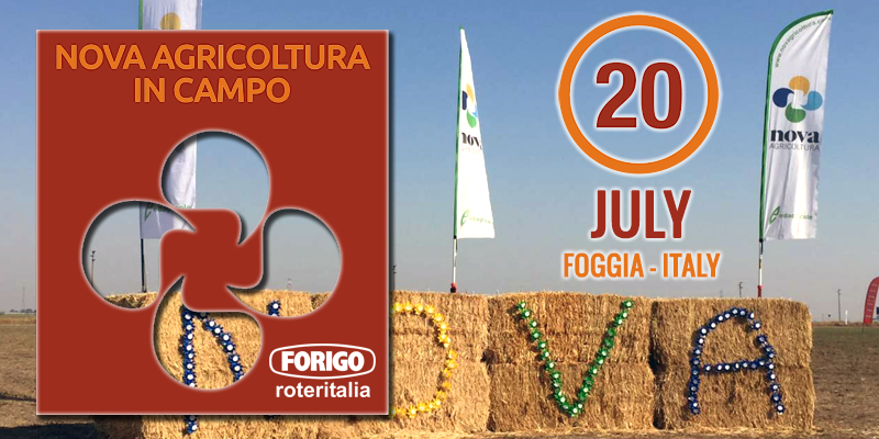 Nova Agricoltura in Campo 2018: sixth edition