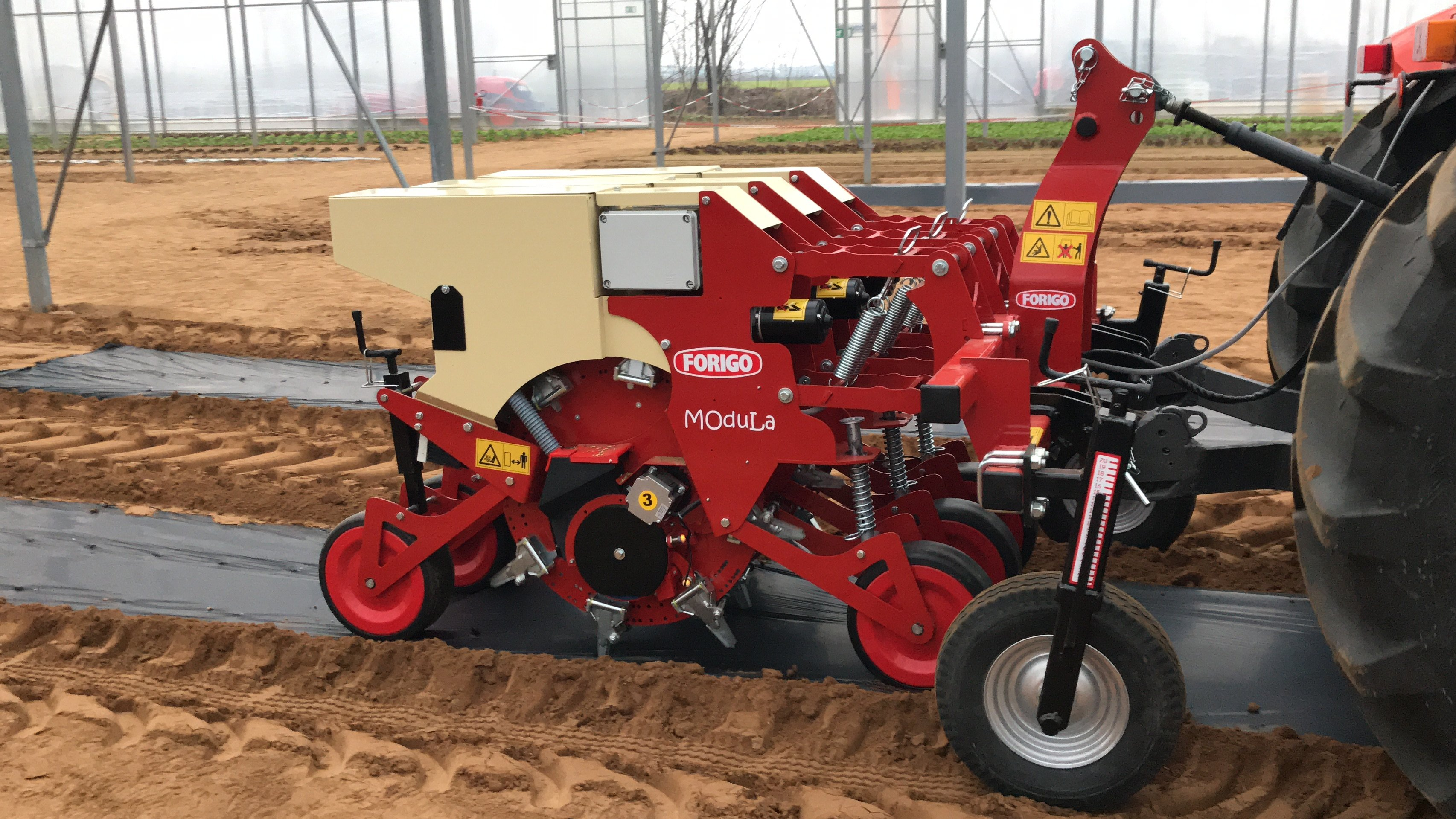 Modula, the precision seed drill marked Forigo