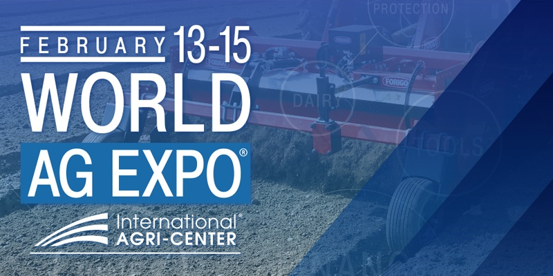 World AG Expo 2018 – Forigo vola in California