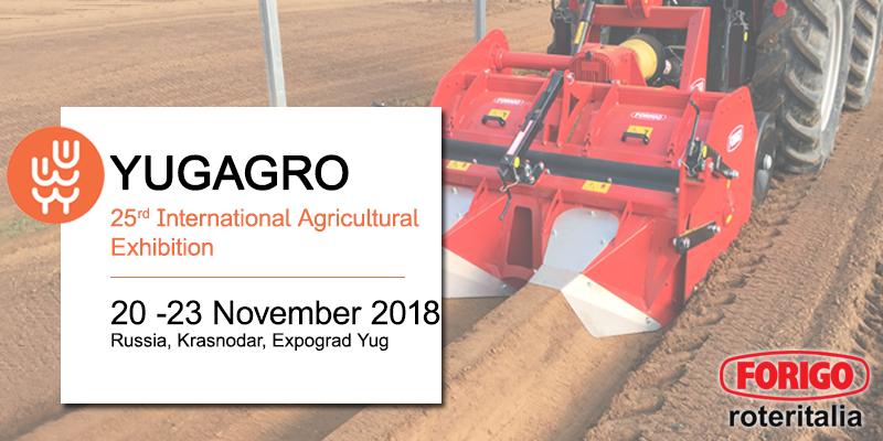 YugAgro 2018: il team Forigo per la Russia
