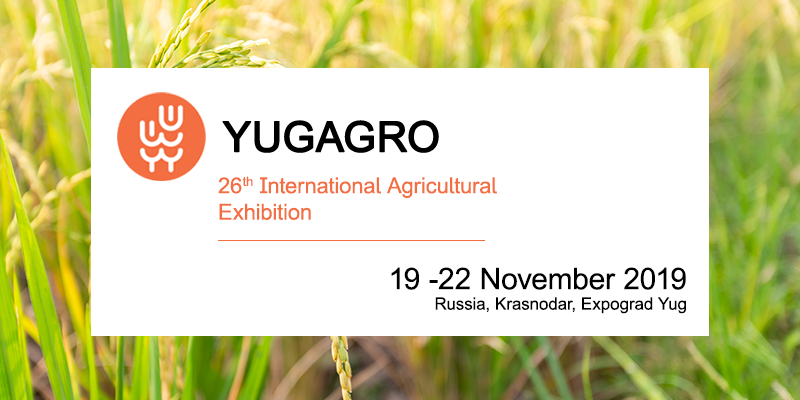 YugAgro 2019: Russia's largest international agricultural trade show